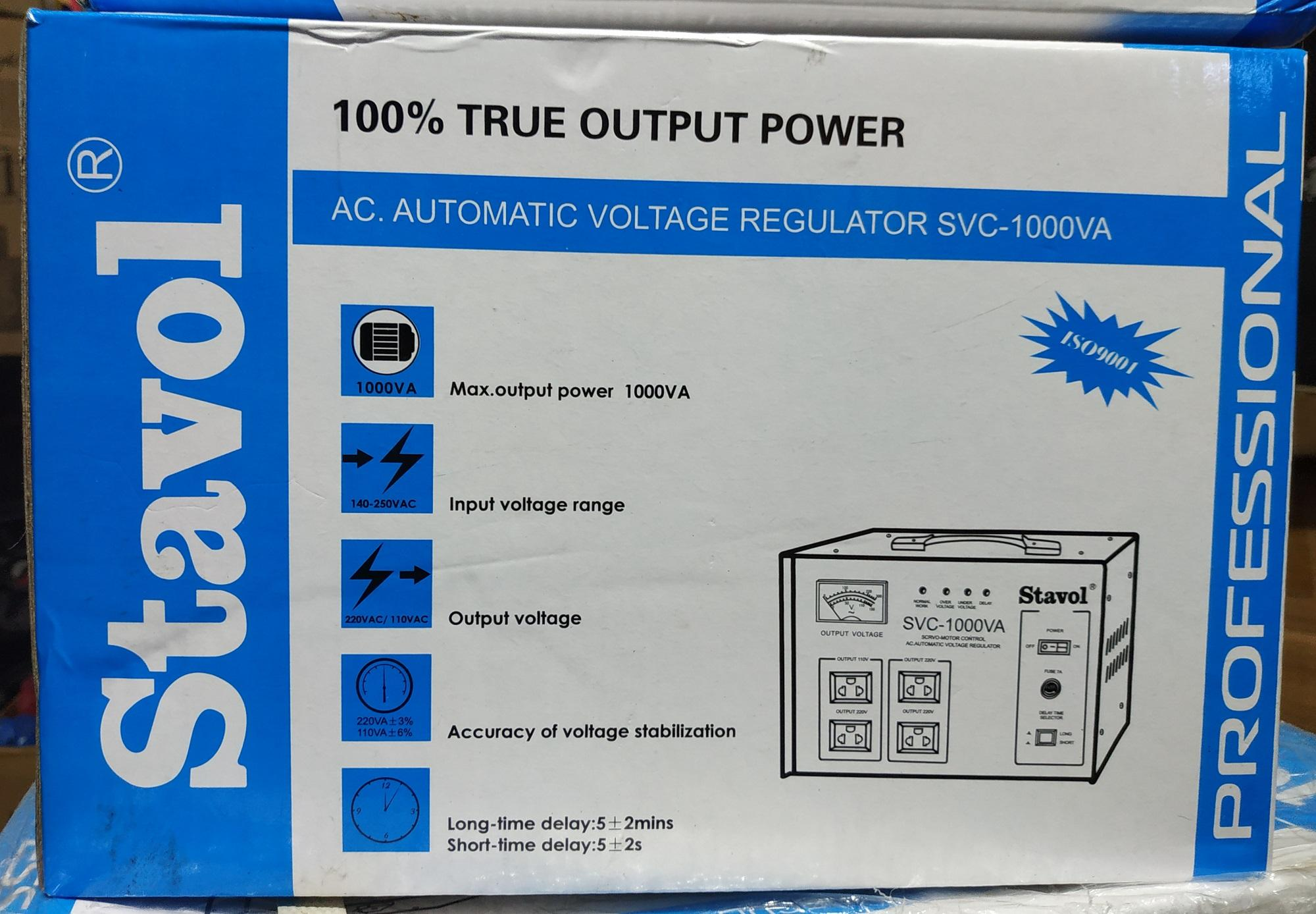 Stavol Philippines Price List Power Supply For Sale Lazada Circuit Breakers Meiji Electric Electrical Supplier 1000w Avr With Time Delay