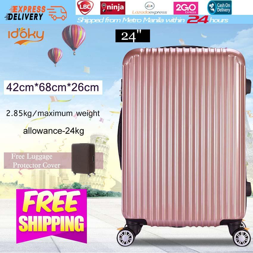 c9521134ce Idoky PH502 Popular 24 Inch Suitcase With Explosion Proof Zipper Hard Case  Luggage Bags
