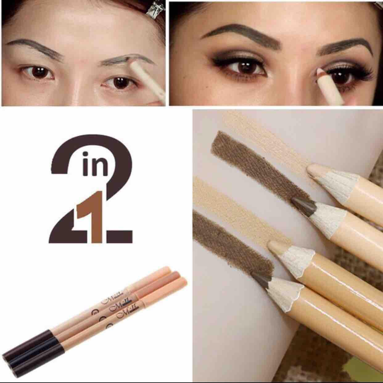 2 in 1 eyebrow and concealer pencil. Philippines
