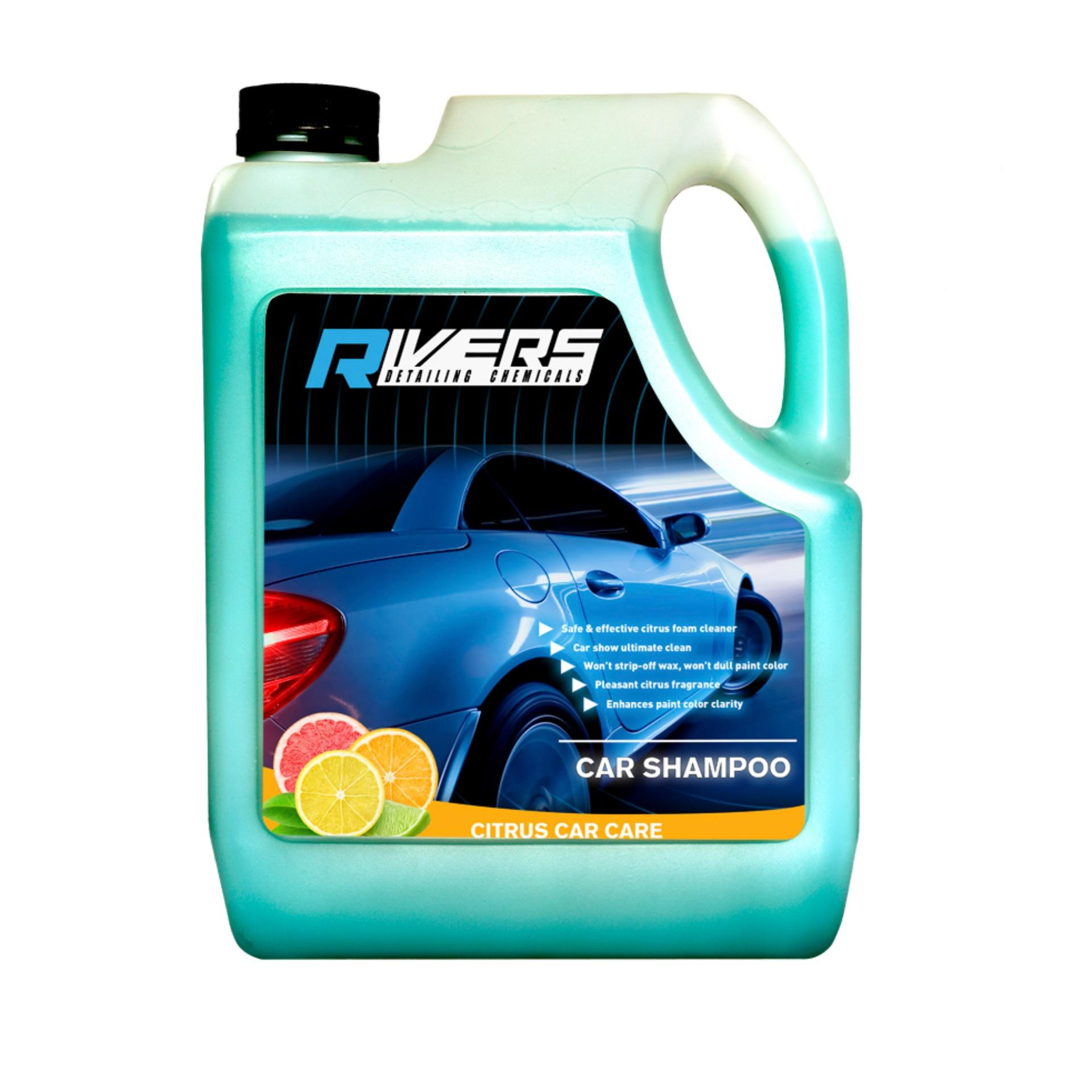 Rivers Citrus Car Shampoo 1 Gal. Or 4 Liters By Rivers..
