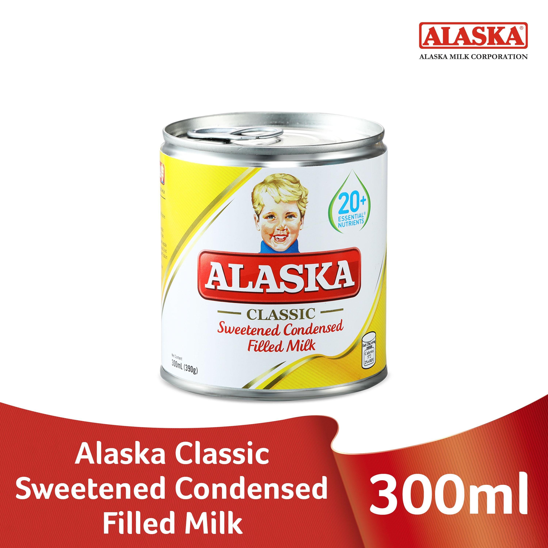 Alaska Sweetened Condensed Filled Milk 300ml By Alaska.
