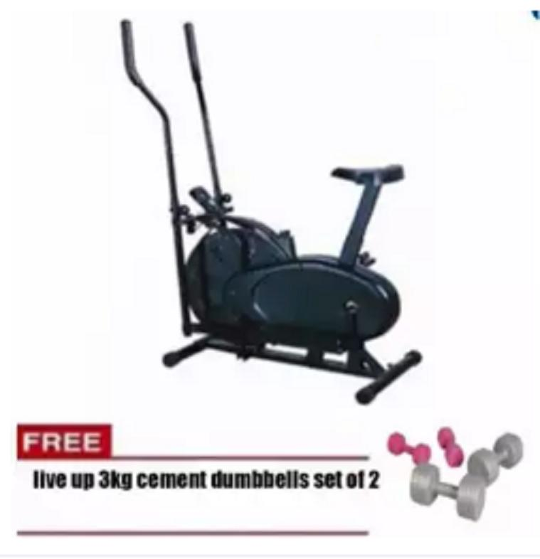 Live Up Orbitrack Elliptical Bike With Free 3kg Live Up Cement Dumbbell By Sonix Sports And Music Store.