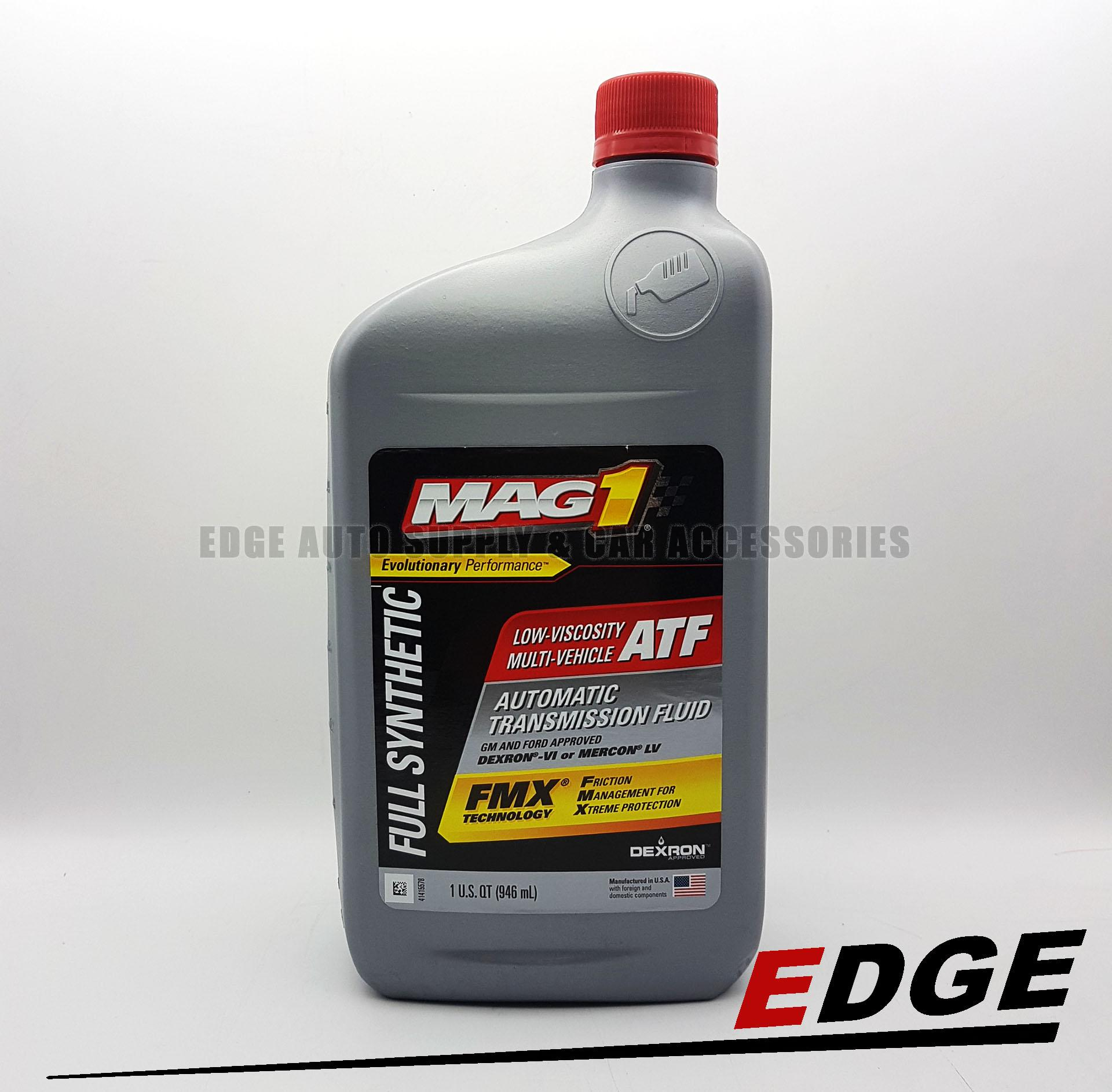Mag 1 Synthetic Automatic Transmission Fluid Low Viscosity Dexron-VI  Multi-Vehicle ATF 1qt (946ml)