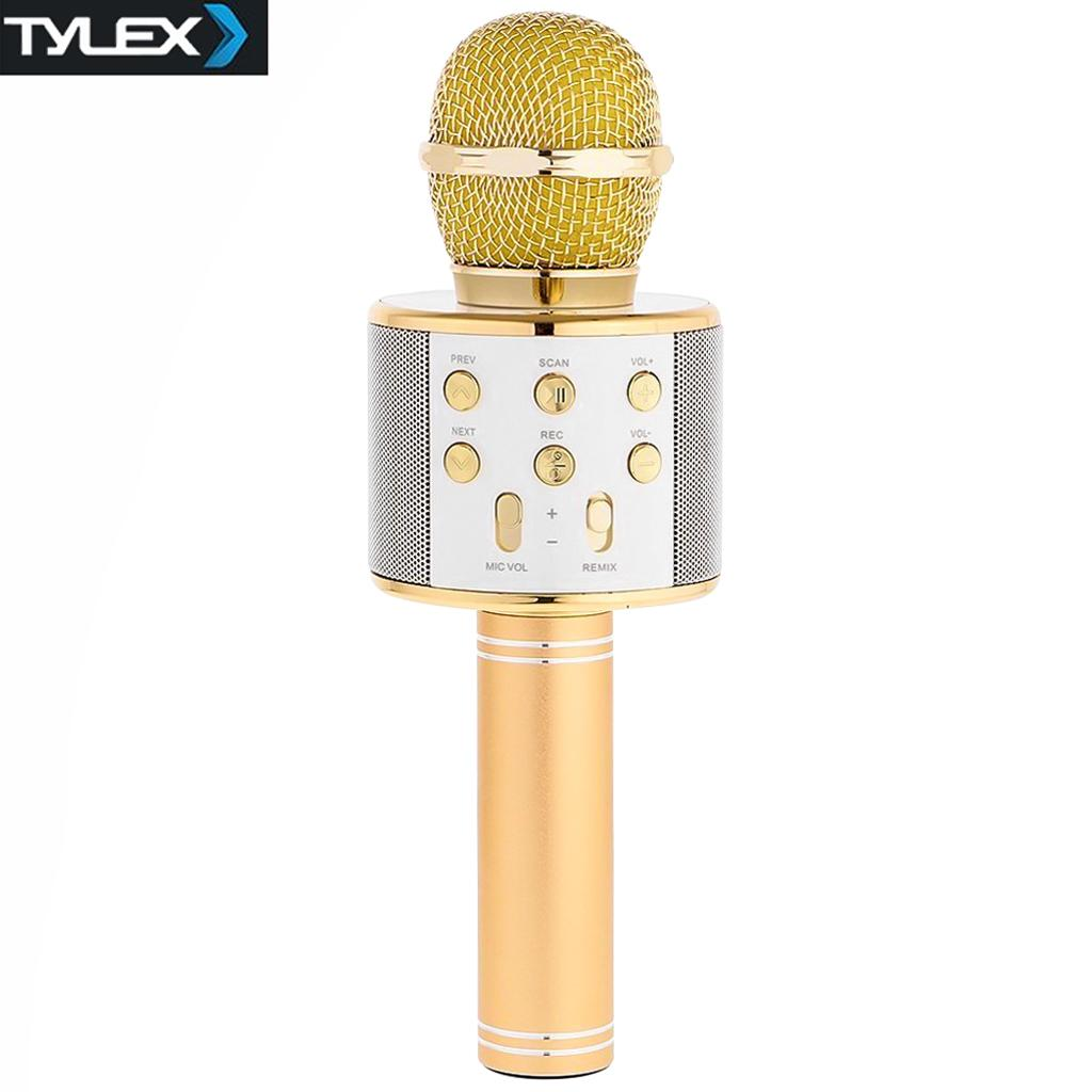 Speaker For Sale Bluetooth Prices Brands Specs In Music Desktop 21 Mega Boom Series If 2103 Blue Tylex Ty 858 Wireless Portable Handheld Microphone Android Ios Gold