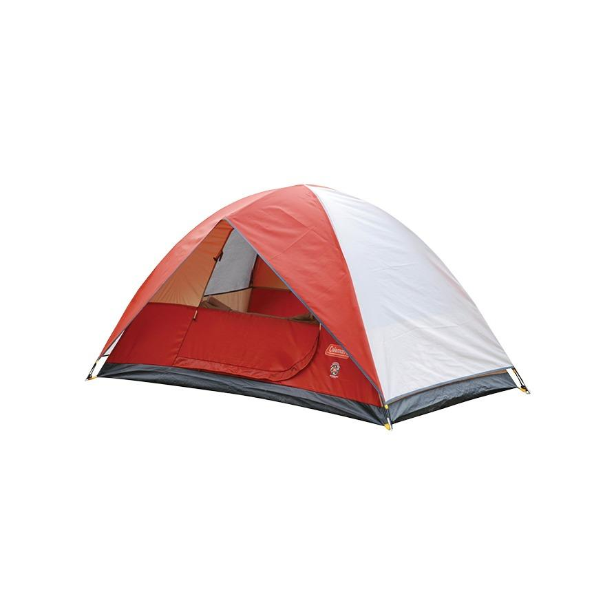 COLEMAN® SUNDOME 2P TENT (6 X 4) (RED)