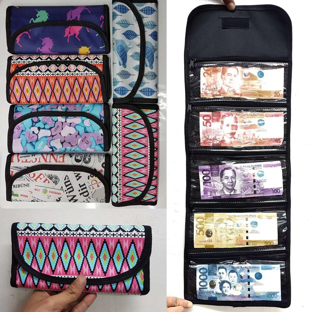 Money Bills Organizer Printed (Design May Vary) - 1 piece Philippines