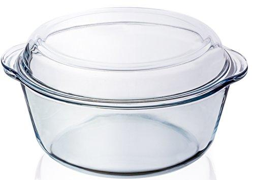 Tp-Y34-3 Bakeware / Microwaveable Round With Cover Jce By Jerry Circle Enterprises.