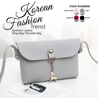 UISN MALL Korean Deer Shell Sling Bag Shoulder Bag #097