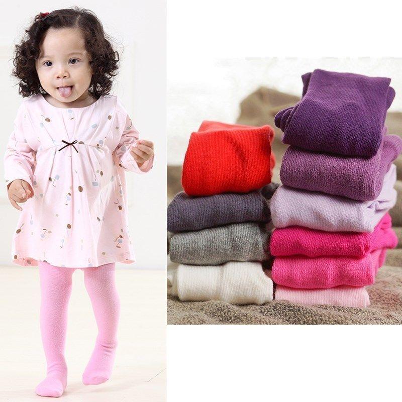 Baby Toddler Infant Kids Girls Cotton Warm Pantyhose Socks Stockings Tights - intl