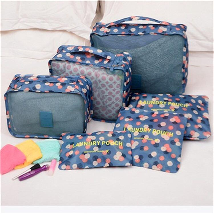 NEW 6 in 1 Travel Luggage Bag Organizer Set