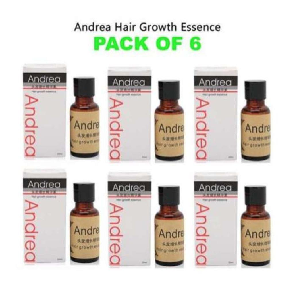 EH Andrea Hair Growth Essence Hair Grower Hair Conditioner Essence Hair Loss Treatment for Men and Women 20ML - PACK OF 6