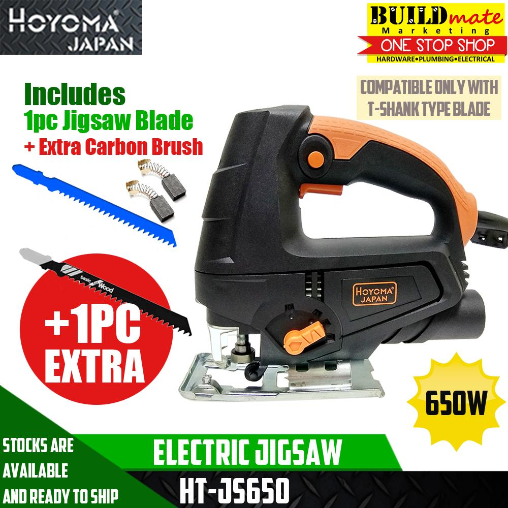 Hoyoma Jigsaw 650w Ht Js650 Plus Extra Blade Adding A 220 Volt Outlet In Garage Ridgid Plumbing Woodworking And Power Saws