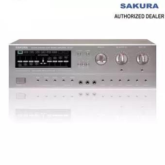 Sakura AV-737 Stereo Mixing Amplifier