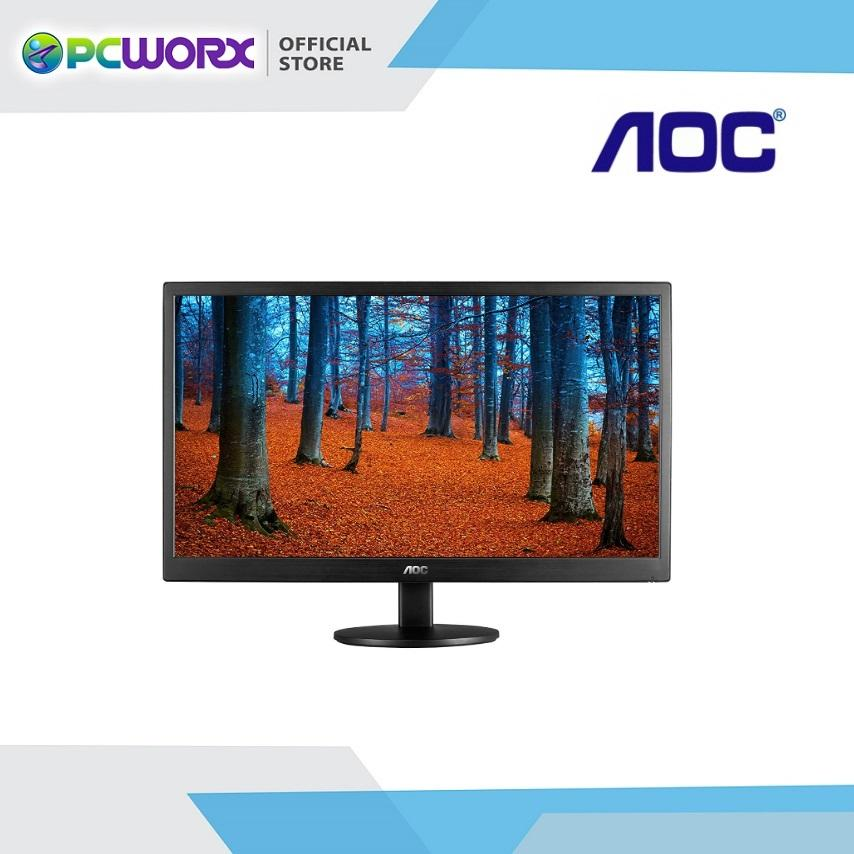 Aoc E970swn Widescreen 18 5 Led Monitor Black With 1 Year Warranty