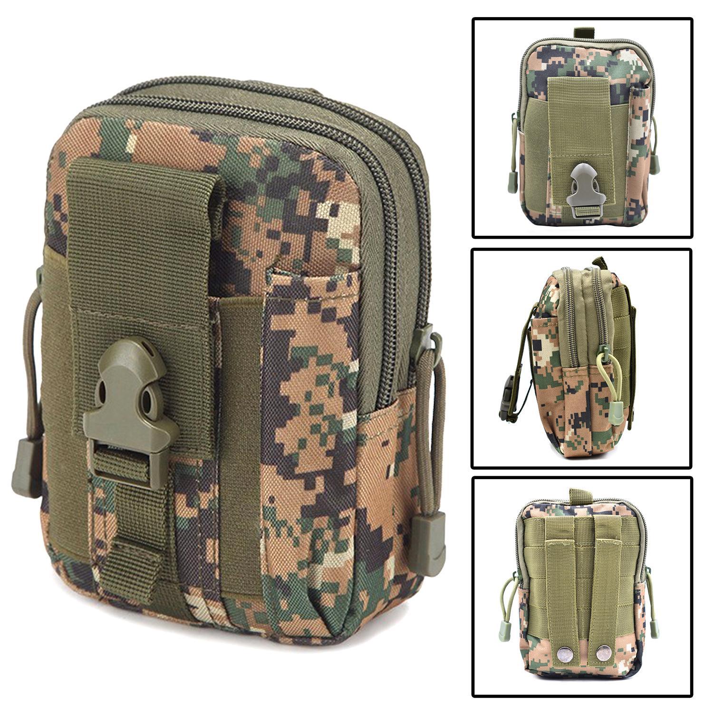 5fa0079399cb Military Tactical Waist Bag Army Molle System Phone EDC Tool Pocket Bag