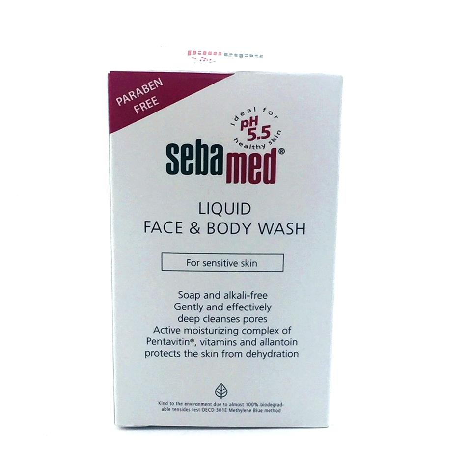 Buy Sell Cheapest Sebamed Clear Face Best Quality Product Deals Liquid Body Wash 200ml For Sensitive Skin 50 Ml