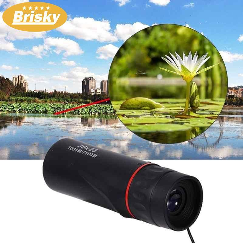 30x25 Zoom Optical Monocular Mini Telescope Concert - Intl By Brisky.