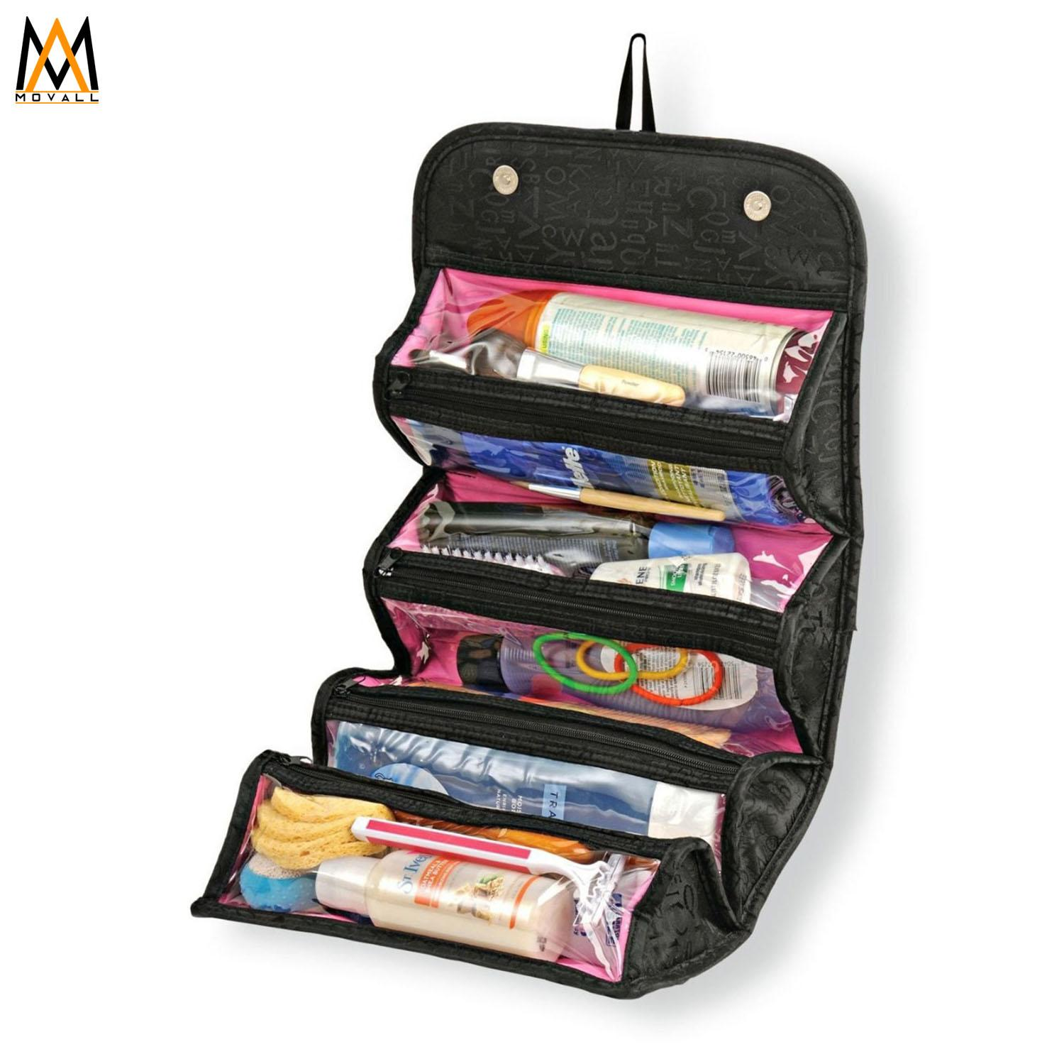Roll And Go Cosmetic Bag Organizer