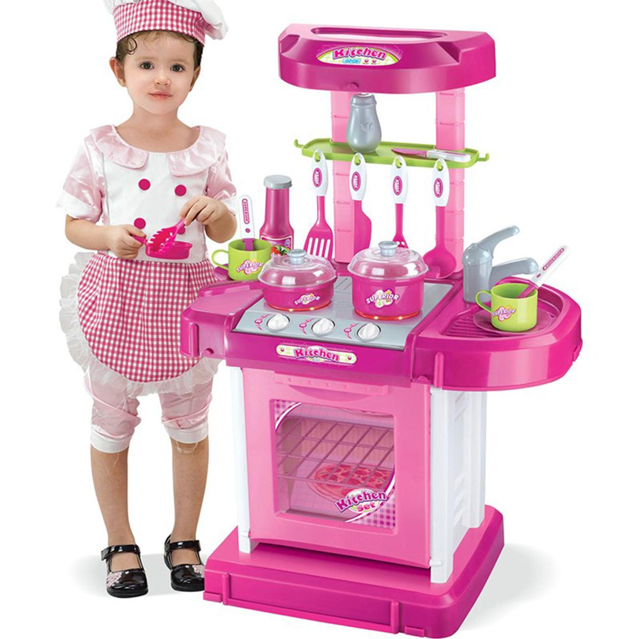 Play House Girl Pretend Play Tableware Sets Toys Kitchen Cooking Doll Toys Children Gifts For All Occasion By Elena Accessories.