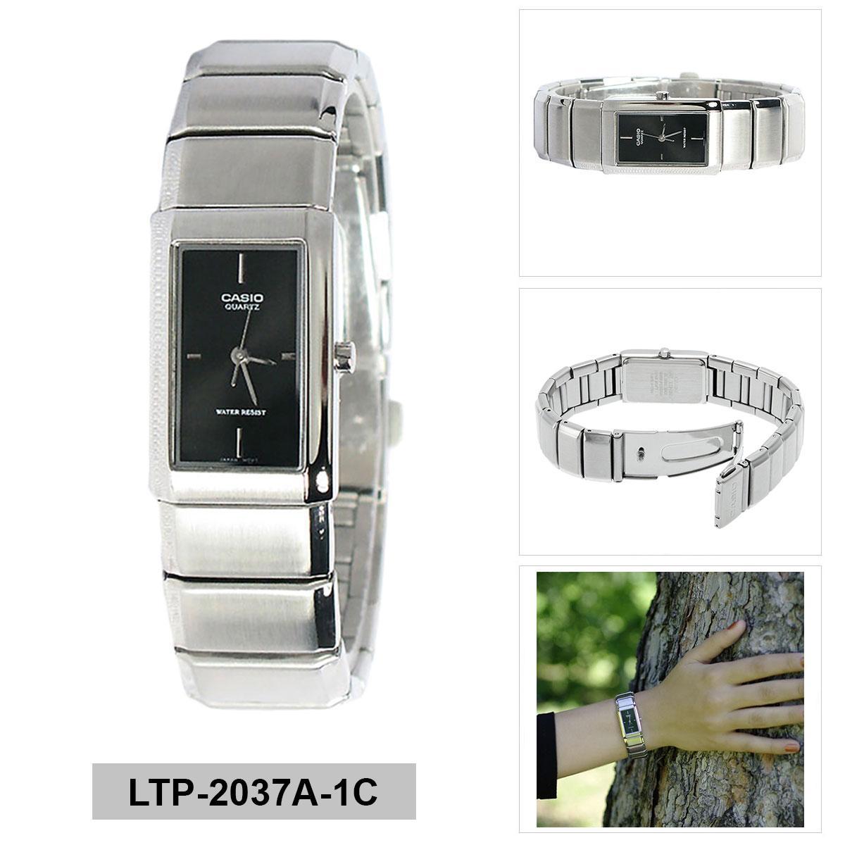 Casio Analog Ltp 2037a 1c Womens Watch Silverblack Daftar Harga 1230d 7cdf Jam Tangan Wanita Silver