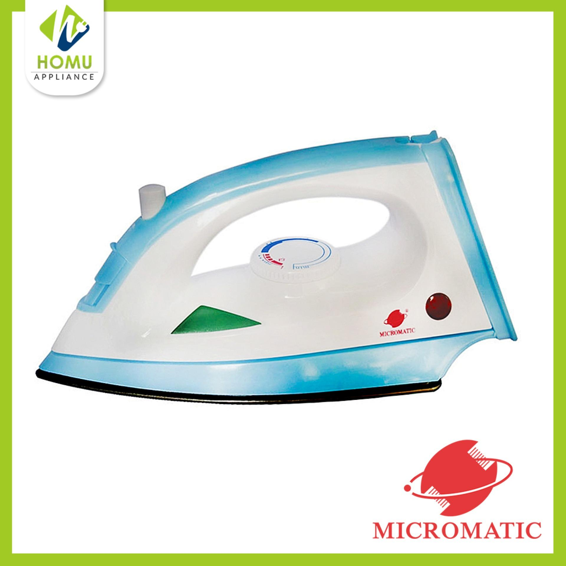Micromatic Mai 1001h Steam Iron White Blue Hanabishi Electric Fan Wiring Diagram 220v