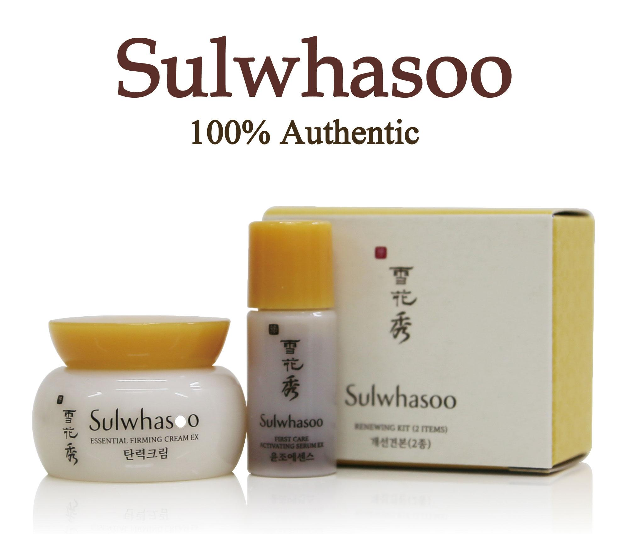 Sulwhasoo Philippines Price List Makeup Cosmetics Kit Time Treasure Renovating Cream Ex 8ml Renewing Kit2item