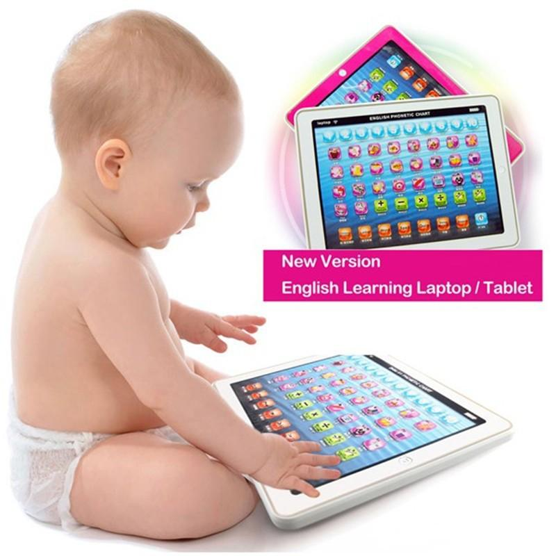 Y Pad English Computer Tablet Learning Education Machine Toy By Hot-Wave.