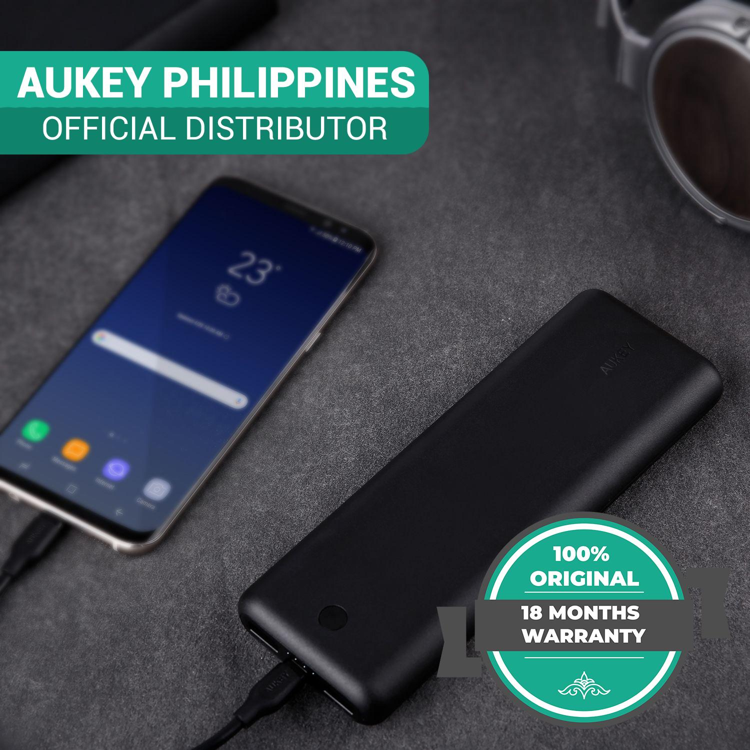 Aukey Philippines Power Bank For Sale Prices Reviews Lazada Cash Pb 20000 Xd20 20100mah Usb C Delivery W Quick Charge