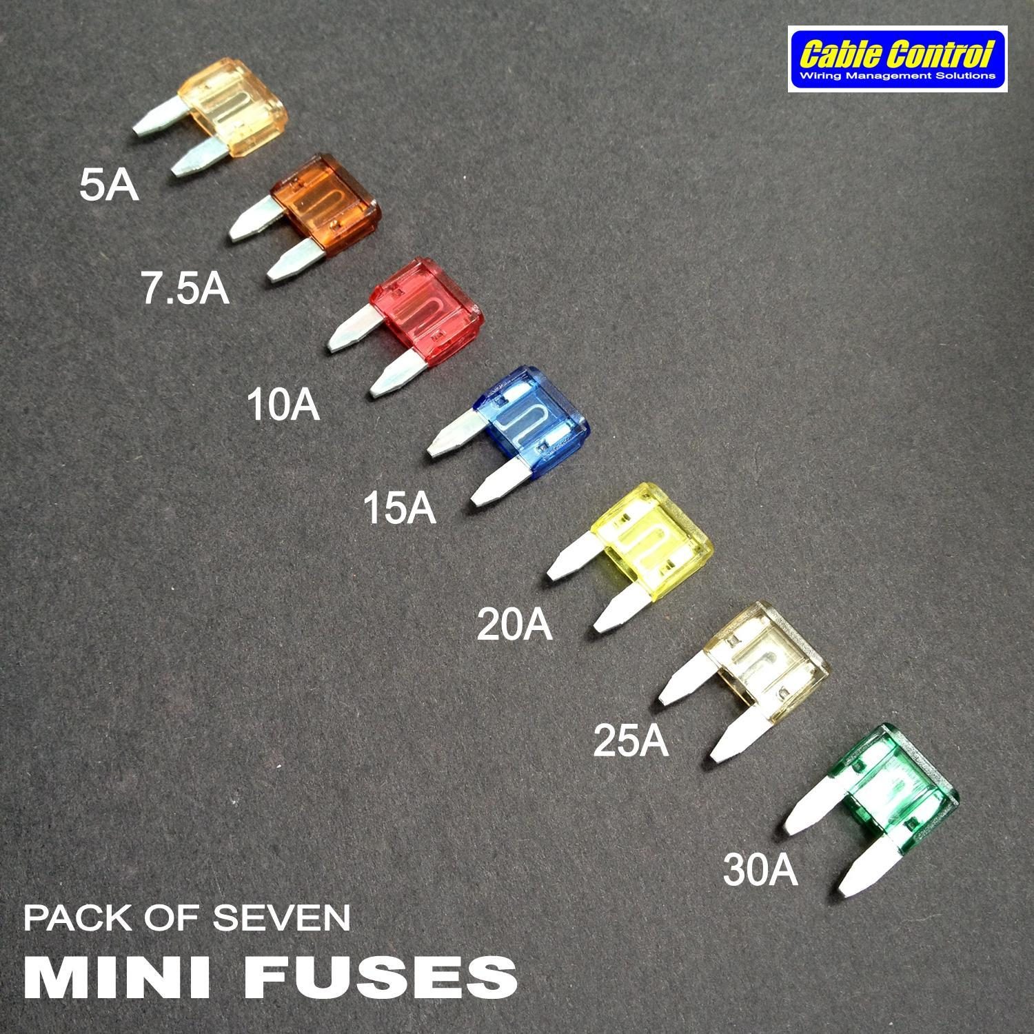 Cable Control Philippines Price List Sleeves Wiring Loom Labels Fuse For Mini Set Of 7
