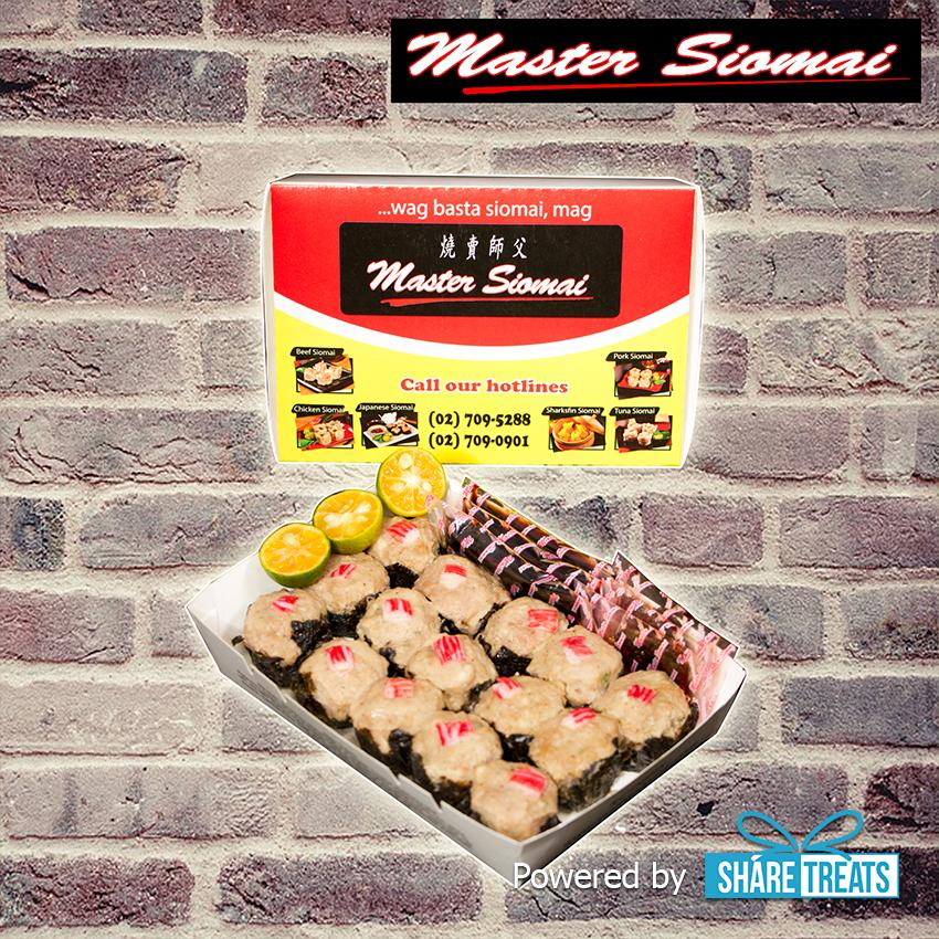 Master Siomai Japanese 15pcs (sms Evoucher) By Share Treats.