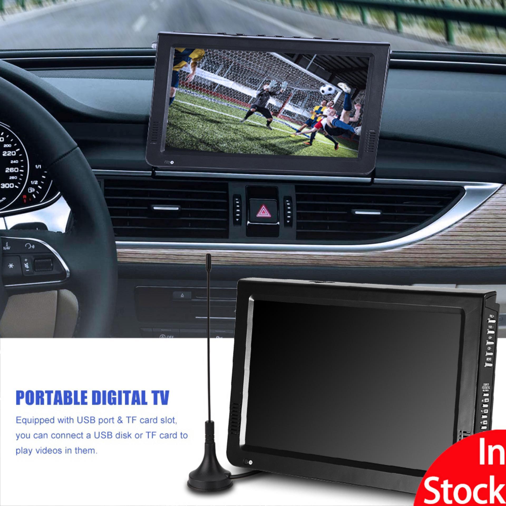 "【Promotions】Portable ATSC 10"" 16:9 Digital Television TV TFT LED 1080P"