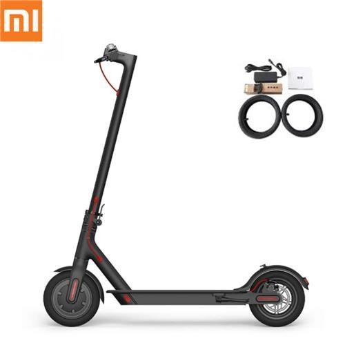 Xiaomi Mijia Folding Electric Scooter M365 Internatiol Version Limited Edition With Free 1 Pair Of Tire By Gc Accessories