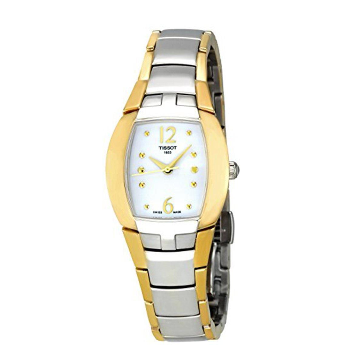 Buy Sell Cheapest Tissot Womens T0332101605300 Best Quality Couturier Ladies T0352101637100 Femini T Multicolored Stainless Steel Case Two Tone