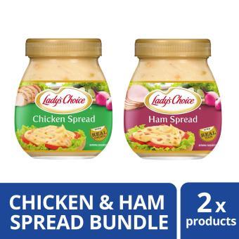 Lady's Choice Ham Spread & Chicken Spread 470ml Bundle