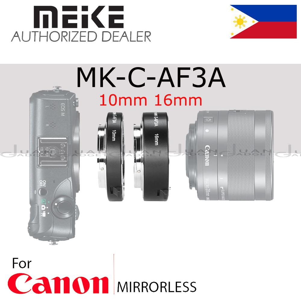 Camera Lens Adapters For Sale Connectors Prices And Circuit Board Digital Photography Concept Meike Mk C Af3a Metal Auto Focus Af Macro Extension Tube Set 10mm 16mm