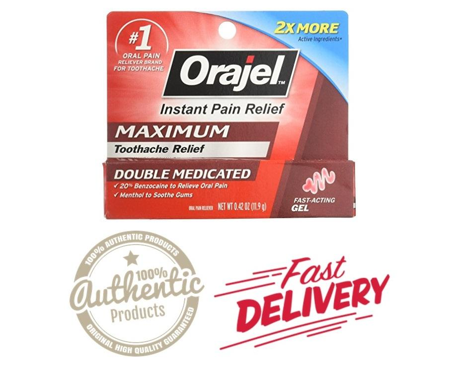 Orajel Maximum Strength Gel Oral Pain Reliever, Relieves Toothache Pain By Alpha Female Philippines.