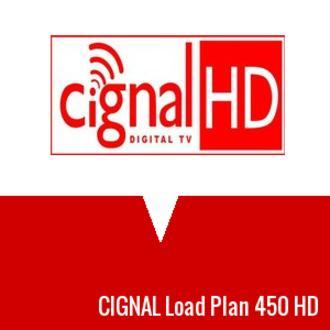 Philippines   Where to sell CIGNAL Load Plan 450 HD check