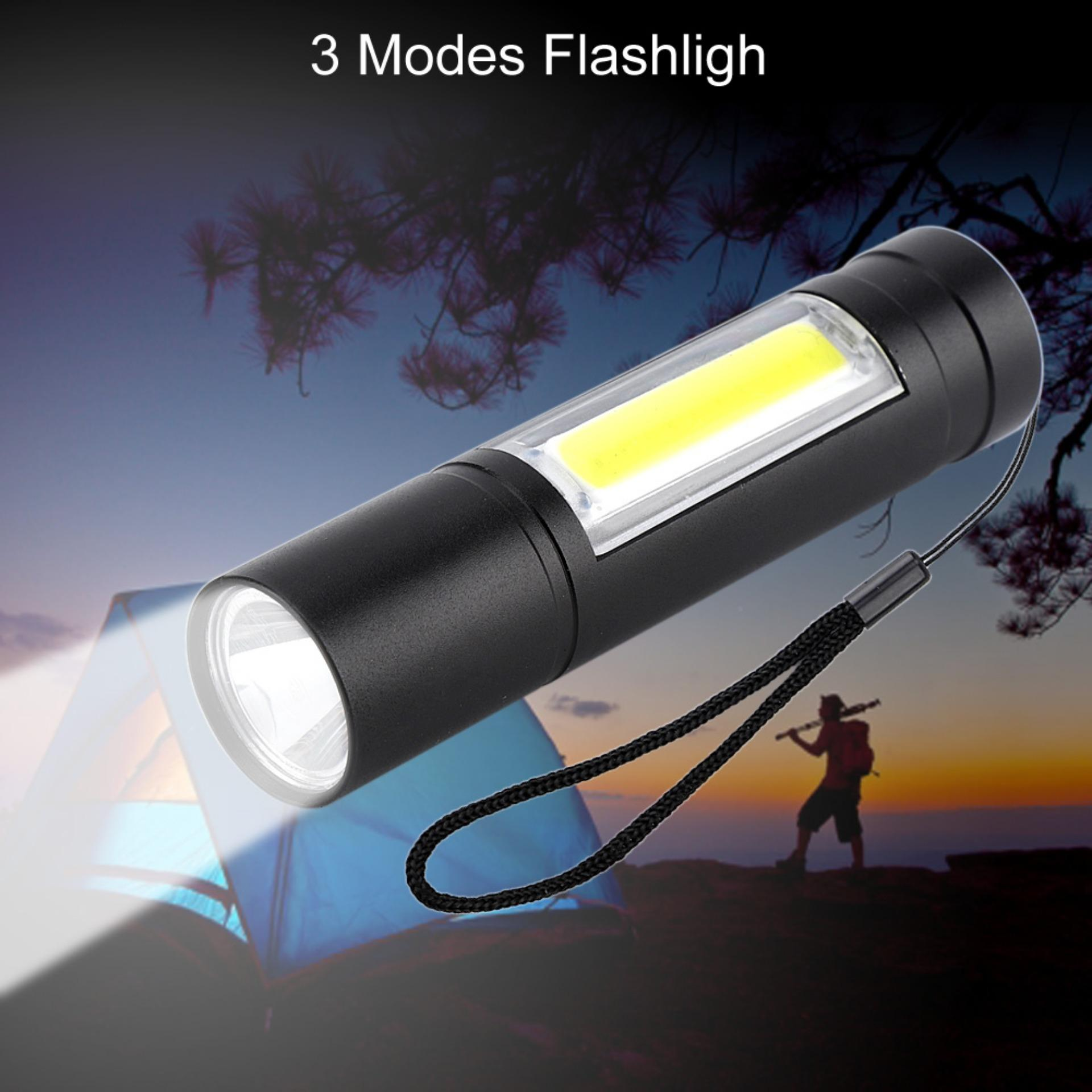 Flashlight For Sale Flash Light Prices Brands Review In How To Build Led Torch Rechargable Waterproof Zoom Xpe Cob Pocket Small Penlight 3 Modes Projector Intl
