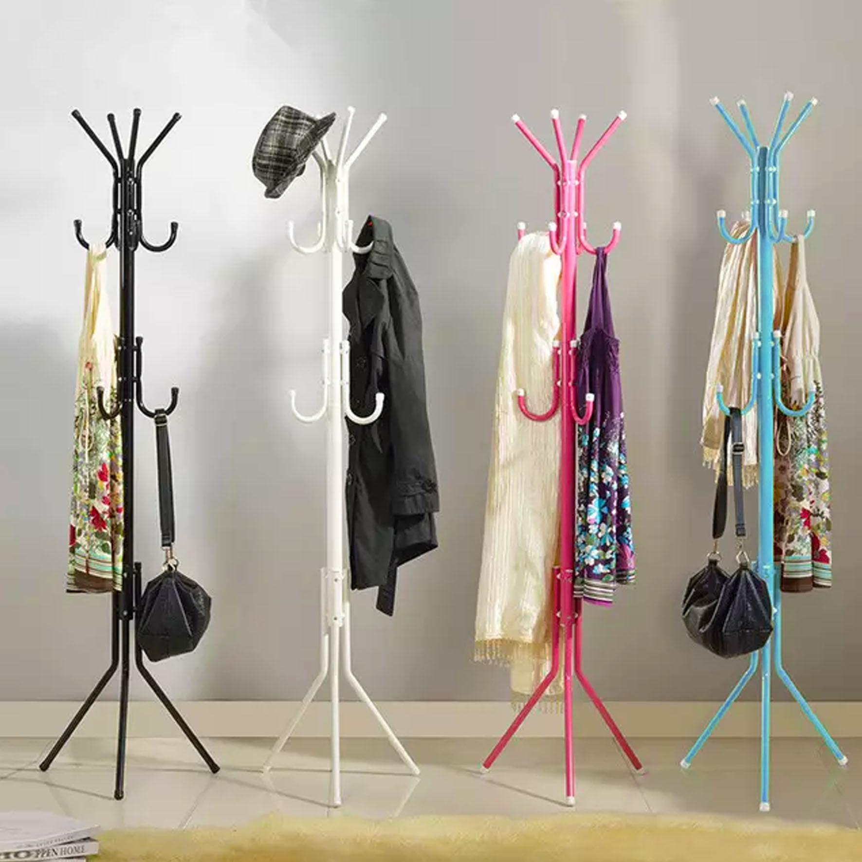 Hallway Furniture For Sale Entryway Prices Brands Standing Hanger Multifunction Stand Multi Level Stainless Steel Clothes Coat Rack
