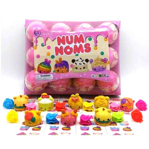 Num Noms Surprise Egg 12pcs Set Mini Figure Toy