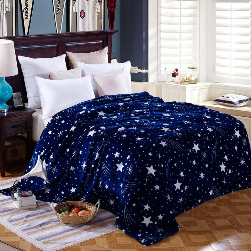 Winter Blanket Flannel Blanket Thick Single Double Coral Fleece Blanket  Sheet Men And Women Students Dormitory 029332ec9e