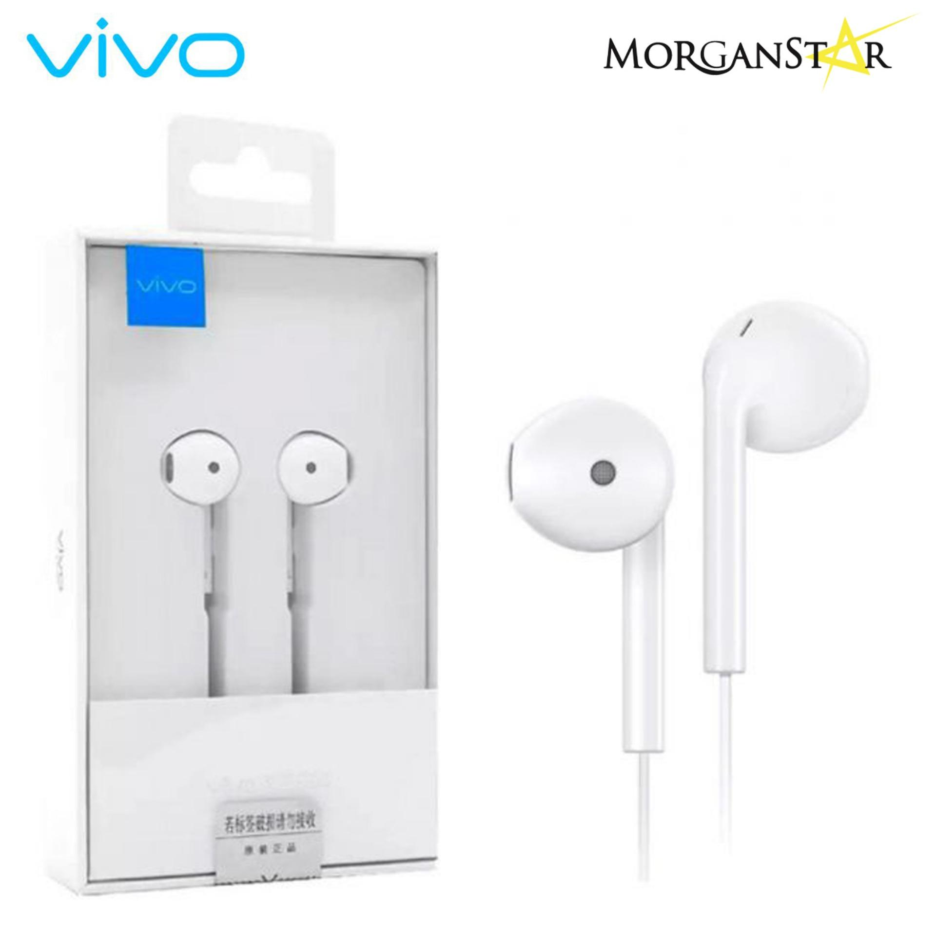 Vivo XE680 In ear 3 55mm Authentic With Remote & Mic Headset White