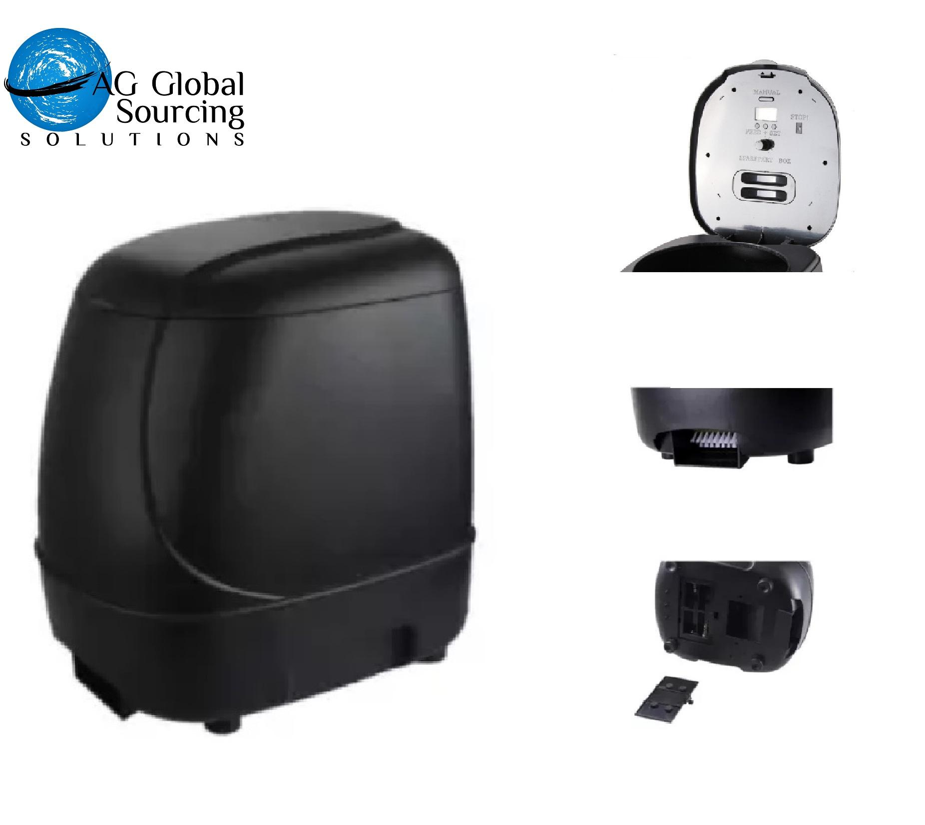 Automatic Pond Feeder By Ag Global Sourcing Solutions.