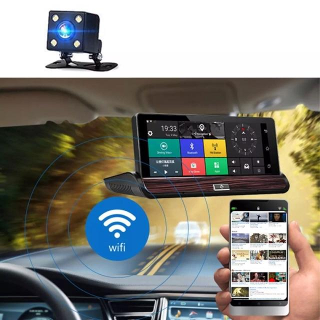 3g Smart Hd Car Dvr 7.0 Inch Dash Cam Android 5.0 Gps Camera By Shinecool Trading.