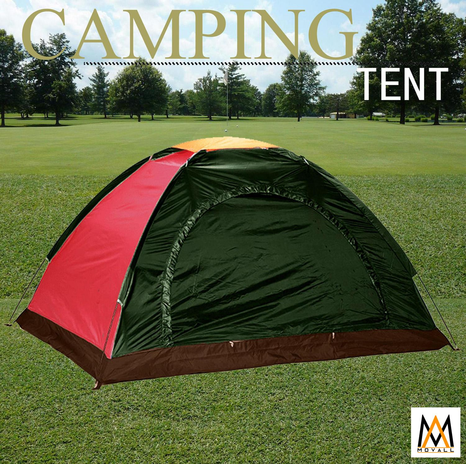6-Person Dome Camping Tent (multicolor) By Movall.