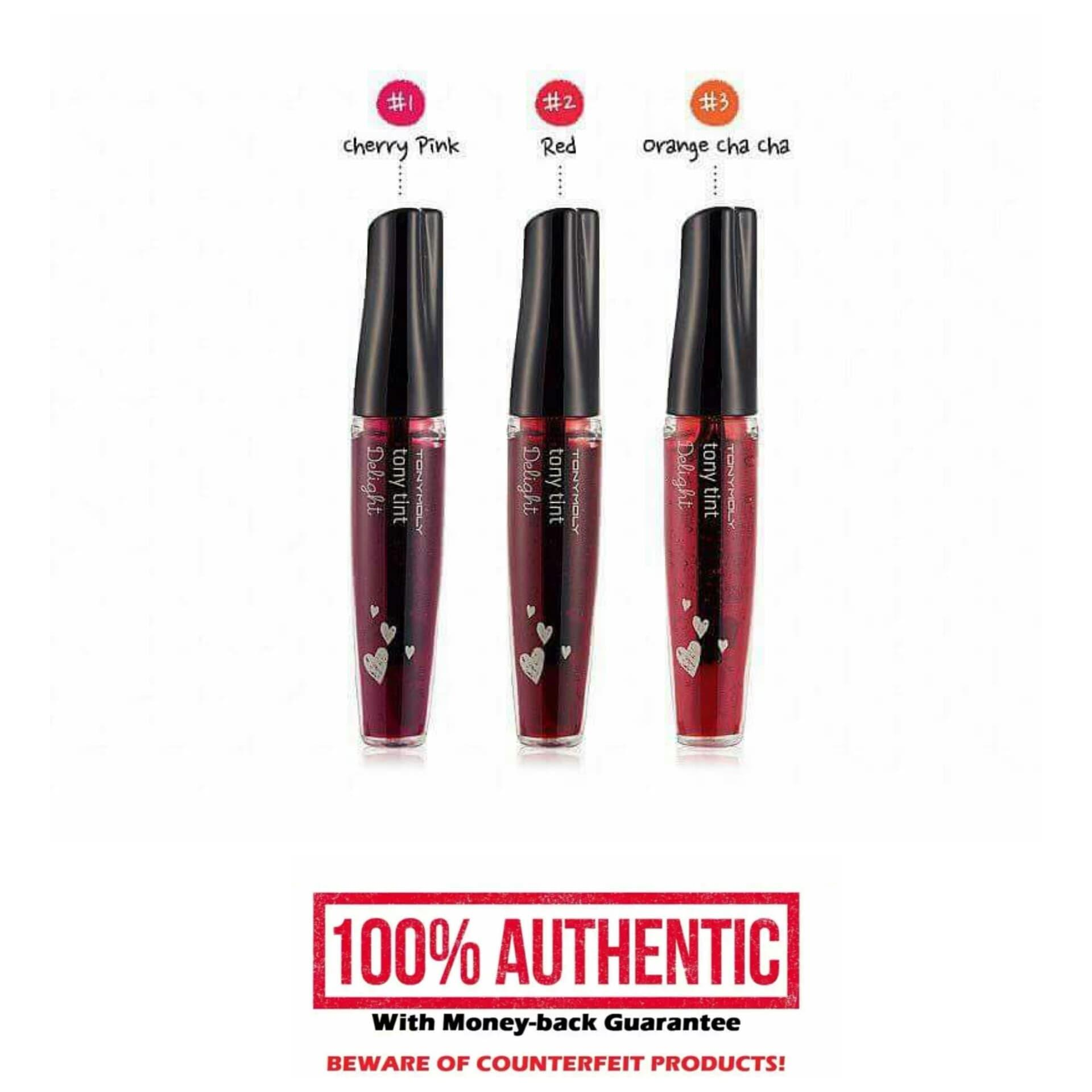 Authentic Tony Möly Delight Lip and Cheek Tint - RED Philippines