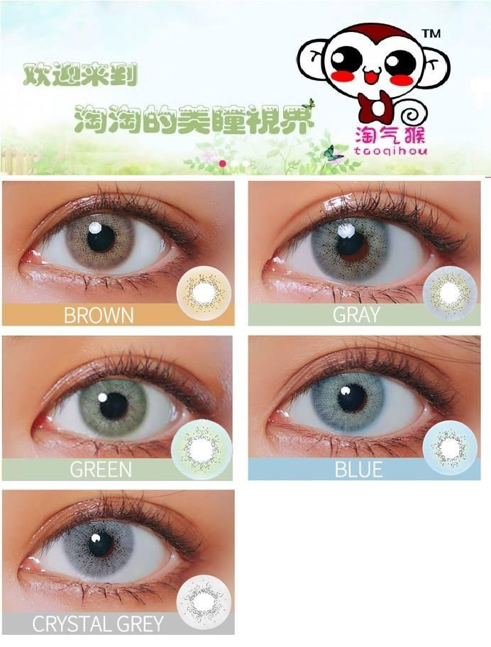 5c859ed5477 Taoqihou Solotica Hydrocor Beta Contact Lens Natural Look