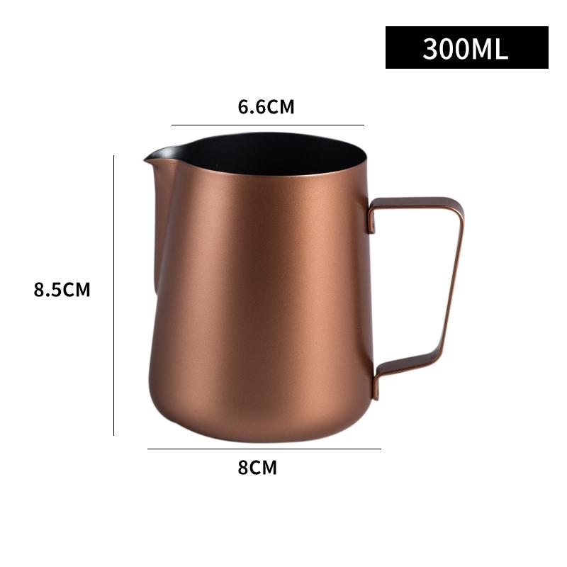 Steam Pitcher Beak Embossing Frothing Pitcher Stainless Steel Latte Art Pot Milk Frothing Cup Fancy Coffee Latte Art Nai Gang Appliances By Taobao Collection.