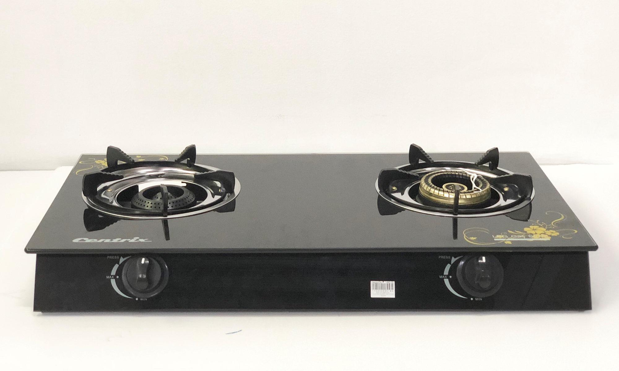 Double Burner Gl Gas Stove Cx 213g