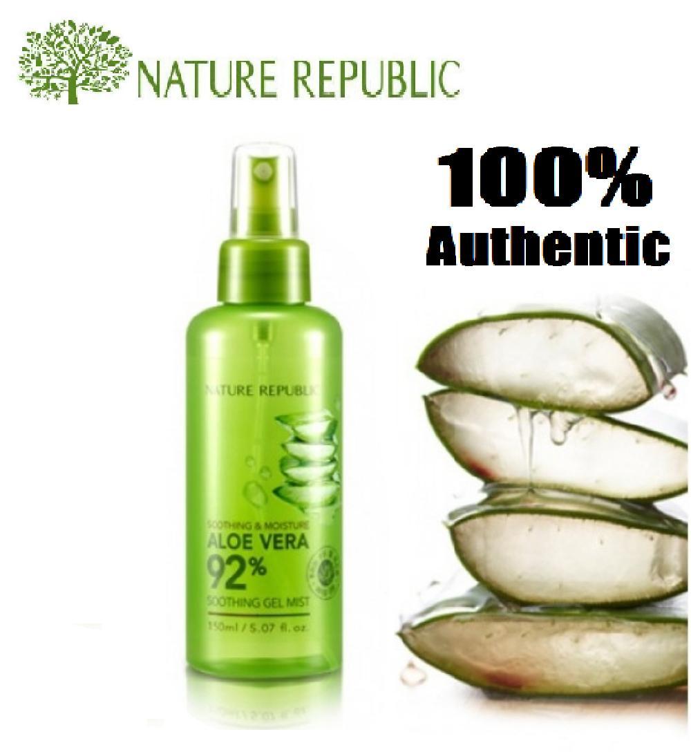 Nature Republic Philippines Price List K Beauty Jeju Fresh Aloe Vera Shooting Gel 92 Soothing Mists 150ml Korean Cosmetics